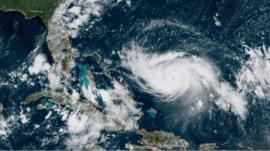 Por qué el huracán Dorian ha sido particularmente impredecible