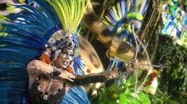 Brazil's British Carnival dancer - BBC News