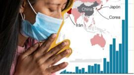 8 mapas y gráficos que muestran el alcance y ritmo de propagación del coronavirus