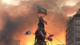 'O Chile acordou': autora da foto viral que marcou protestos conta o que sentiu ao capturar imagem