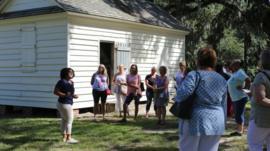 Los incómodos comentarios de turistas en las plantaciones esclavistas de Estados Unidos