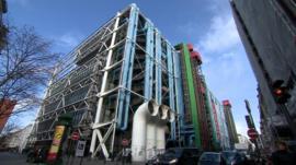 The Pompidou Centre in Paris