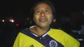 Mother of two missing children in Colombia mudslide