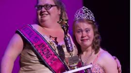 Miss Amazing contestant Tiffani Johnson
