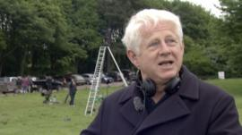 Writer Richard Curtis tells us about his new movie, set in Suffolk as well as Norfolk and Essex.