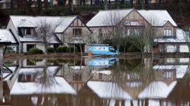 Homes flooded in Aberdeenshire
