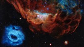 Qué se ve en la espectacular imagen del Hubble publicada por la NASA por el 30 aniversario del telescopio