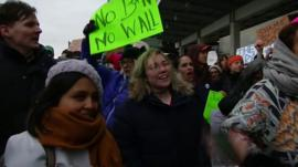Protesters JFK