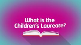 What is the Children's Laureate graphic