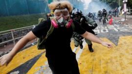 Kong Kong protest