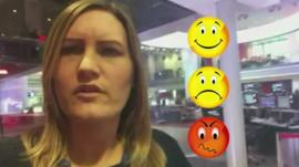 Social media producer and emojis