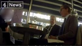 Footage appears to shows CEO Alexander Nix suggesting tactics his company could use to discredit politicians.