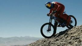 Mountain bike record