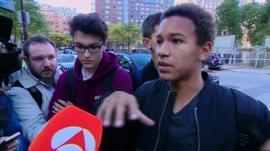 New York attack eyewitnesses