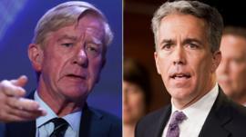 Quiénes son los dos republicanos que desafían la nominación de Trump para la reelección (y por qué son inusuales sus candidaturas)