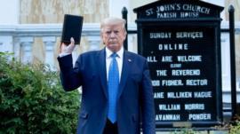 Trump en el búnker: la