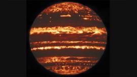 La extraordinaria imagen de Júpiter que astrónomos construyeron con un mosaico de fotos