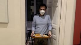 Así es mi vida con mi marido aislado en nuestra casa por el coronavirus