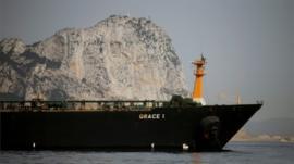 Gibraltar libera el petrolero iraní que retenía pese a la oposición de Estados Unidos
