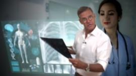 Aaron Heslehurst and x-rays