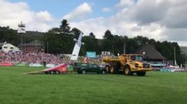 Kangaroo Kid jump at Royal Welsh Show