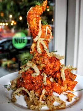 Món cánh gà ở nhà hàng Nue