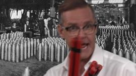 Aaron Heslehurst and dynamite