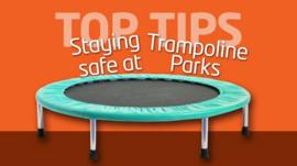 Top Tips for staying safe at trampoline parks