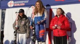 Meet ski star Daisi at the English Alpine Championships.