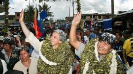 Las enormes diferencias (y algunas similitudes) del primer y último día de la era Evo Morales