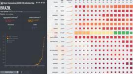 Coronavírus: os sites em tempo real que mostram dados de mortes, curvas de contágio e mutações