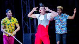 La singular historia de los artistas de un circo cubano varado en Inglaterra por el coronavirus