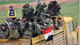 وسائل إعلام تركية: مصر أرسلت جنودا إلى سوريا