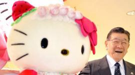 Cómo surgió Hello Kitty, la famosa caricatura de la compañía Sanrio cuyo fundador se jubila a los 92 años