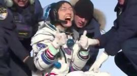 El extraordinario récord que batió la astronauta Christina Koch con su regreso a la Tierra