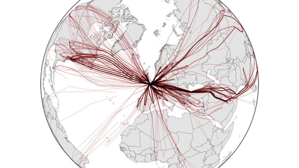 8 gráficos que muestran cómo cambió el mundo con la cuarentena por el coronavirus
