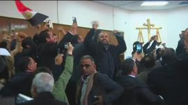 Court ruling greeted by cheers and singing