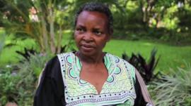 Lucy Finch, the founder of Ndi Moyo