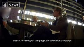 Alexander Nix on Channel 4 News