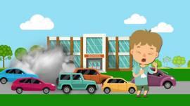Pollution graphic