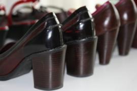 Row of high heels