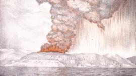 Krakatoa: a erupção que mudou o clima, o pôr do sol e foi o som mais alto já ouvido no planeta