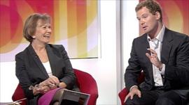 Joan Bakewell and Neil O'Brien
