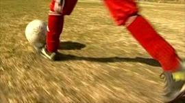 Afghan Womens' National Football Team player