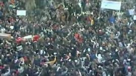 Protests after Friday prayers in Benghazi