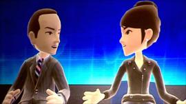 Rory Cellan-Jones's avatar interviews Microsoft executive Reena Kawal's avatar
