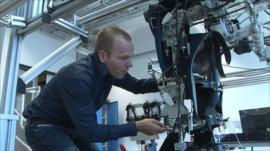 Dr Edwin van Asseldonk and the LOPES machine