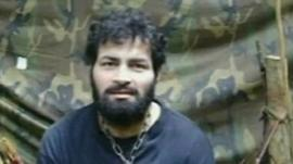 Hostage held by Farc