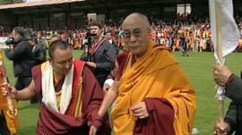 Dalai Lama in Aldershot
