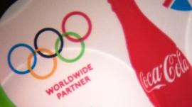 Coca-Cola and Olympic branding